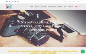 Shirta Services | Multi-Utility services website design and developed by Spider Weaves.